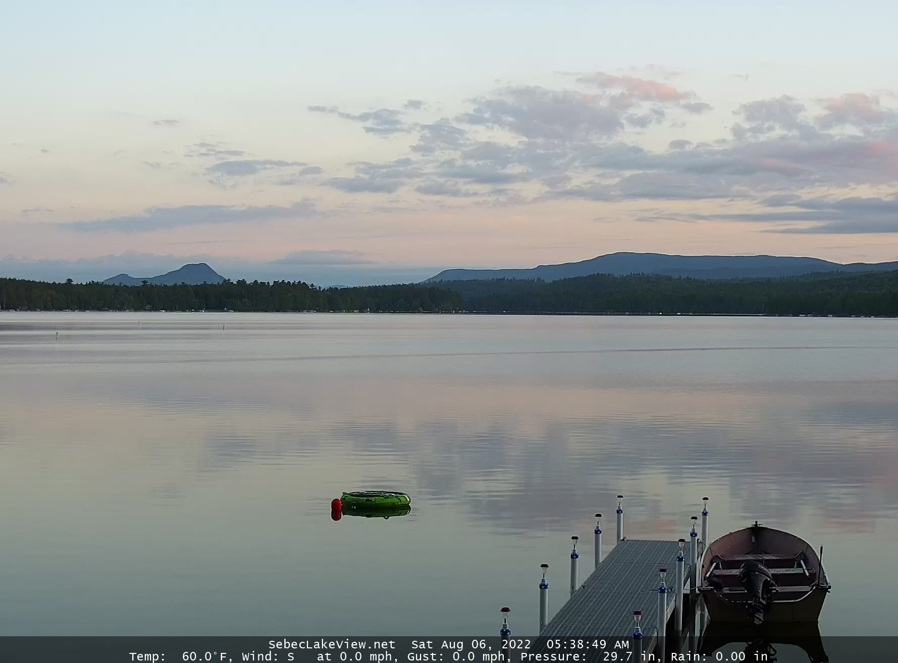 Sebec Lake WebCam
